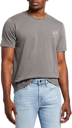 Frame Men's Embroidered Palm Tee