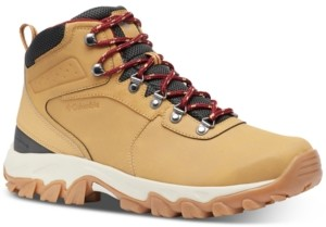 Columbia Men S Newton Ridge Plus Ii Waterproof Hiking Boots Men S Shoes Shopstyle