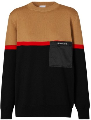 Burberry Colour-Block Sweater
