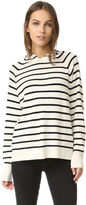 Chinti and Parker Striped Hoodie