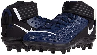 Nike Force Savage Pro 2 (College Navy/White/Black) Men's Cleated Shoes