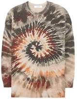 Valentino Printed cashmere sweater