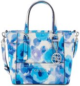 GUESS Delaney Floral-Print Mini Tote