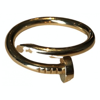 Cartier Juste un Clou Gold Yellow gold Jewellery