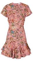 Zimmermann Lattice Floral Dress