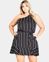 City Chic Sexy Stripe Tunic