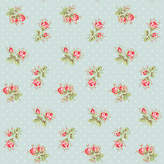 Cath Kidston For Harvey Maria Rose Sprig Vinyl Floor Tiles, 1.115m2 Pack