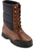 Lauren Ralph Lauren Quinlyn Leather Mid-Calf Boots