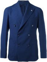 Tagliatore double breasted blazer - men - Silk/Cupro/Wool - 52