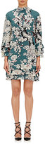 Valentino Women's Enchanted Tree-Print Dress-LIGHT GREEN
