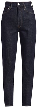 Helmut Lang Spike High-Waisted Jeans