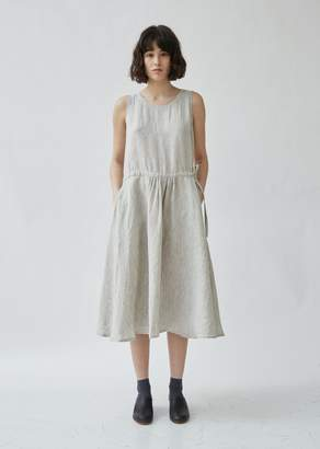 Blue Blue Japan Linen Crewneck Sleeveless Dress