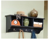 Alaterre Shaker Cottage Coat Hooks with Storage