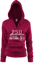 Soffe Florida State Seminoles Cardinal Rugby V-Neck Hoodie - Women