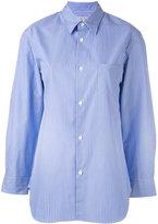 Junya Watanabe Comme Des Garçons - striped shirt - women - Cotton - XS