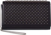 Christian Louboutin Spiked Leather Shoulder Bag