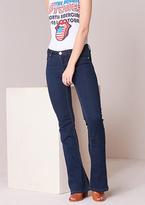 Missy Empire Hattie Blue Low Rise Flared Jeans
