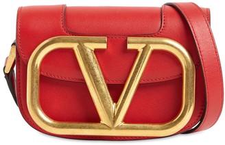 Valentino Supervee Sm Leather Shoulder Bag