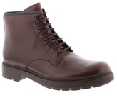 Camper Dark Red 'hardwood' Boots