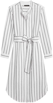 Banana Republic Linen-Cotton Shirt Dress
