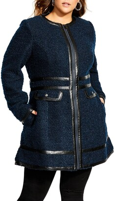 City Chic Winter Escape Coat