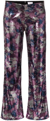 Collina Strada Mariposa sequinned trousers