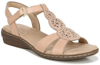 Naturalizer Belle Leather Slingback Sandal - Wide Width Available