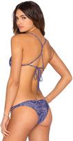 Ale By Alessandra Blanket Stitch Triangle Bikini Top