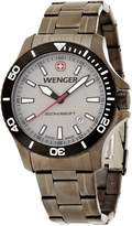 Wenger 0641.107 Men's Sea Force Gunmetal Ion Plated Grey Dial Swiss watch