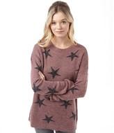 Jacqueline De Yong Womens Rubin Sweatshirt Rose Brown