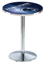 """NCAA Pub Table Holland Bar Stool Tabletop Size: 42"""" H x 28"""" W x 28"""" D, Team: Penn State"""