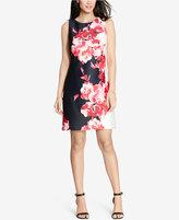 Lauren Ralph Lauren Floral-Print Ponte Dress