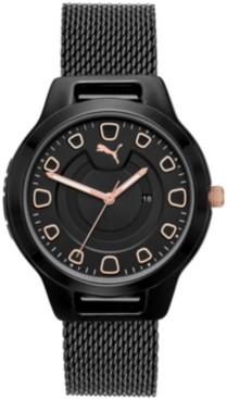 Puma Women's Reset Stainless Steel Mesh Bracelet Watch 36mm