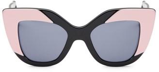 Illesteva Juliette 42MM Cat Eye Sunglasses