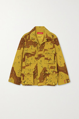 Denimist Surplus Camouflage-print Cotton-blend Canvas Jacket