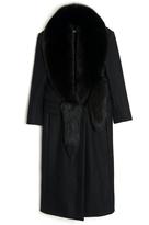 Altuzarra Lara Fur-Collar Coat