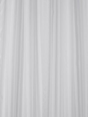 Croydex White Regency Stripe Hook N Hang Shower Curtain