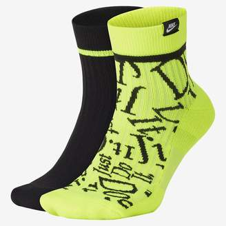 Nike Ankle Socks (2 Pairs SNKR Sox JDI