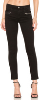 7 For All Mankind The Zip Front Ankle Skinny