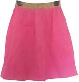 Manoush Pink Silk Skirts