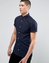 Jack and Jones Slim Short Sleeve Oxford Shirt