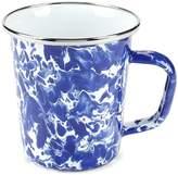 Golden Rabbit Swirl Latte Mug