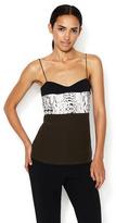 Narciso Rodriguez Silk Printed Top