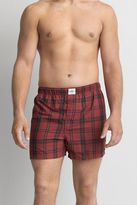 American Eagle Outfitters AE Heathered Plaid Boxer