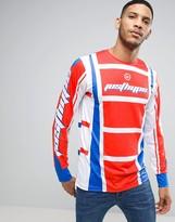 Hype Long Sleeve T-Shirt In Motorcross Style