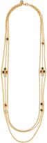 Ben-Amun Gold-tone stone necklace