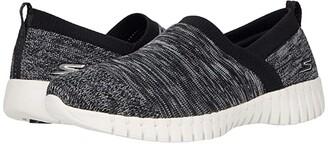 SKECHERS Performance Go Walk Smart - Artistic (Black/White) Women's Shoes