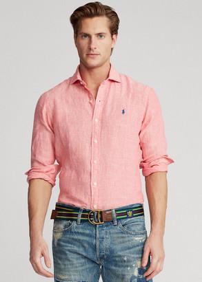 Ralph Lauren Slim Fit Linen Chambray Shirt
