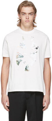 Our Legacy White Destroyed Vase New Box T-Shirt