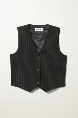 Weekday Levi Vest - Black
